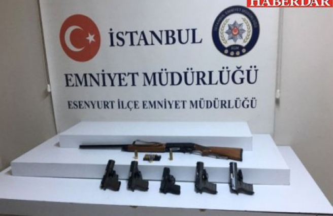 Esenyurt'ta Silah Tüccarlarına Darbe: 2 Kişi Tutuklandı