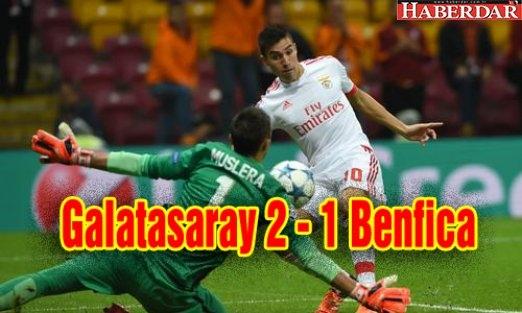 Galatasaray 2 - 1 Benfica