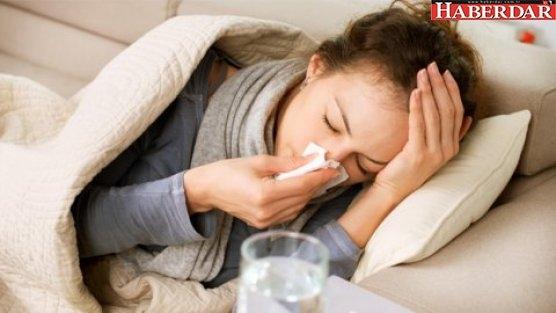 Grip nezle mevsimi başladı
