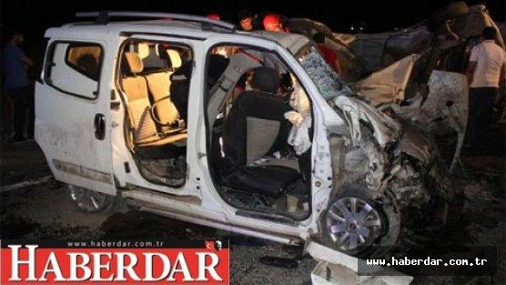 Hasta ziyareti dönüşü kaza: 4 ölü