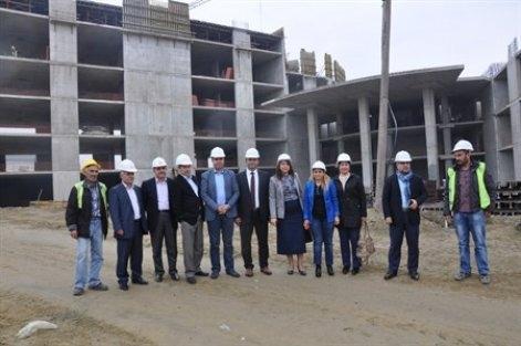 Hastane inşaatına ek bütçe!