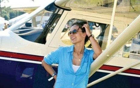 İlk kez Türk kadın pilot var!