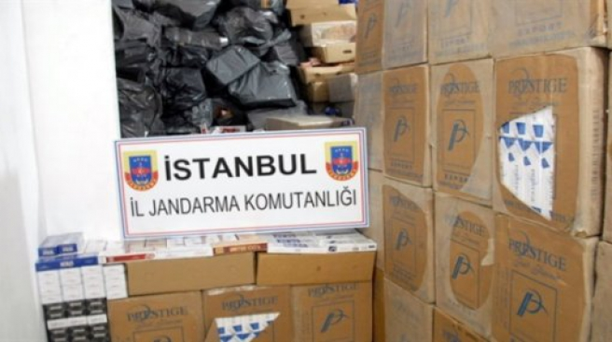 Jandarmadan 1,5 milyon liralık operasyon