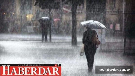 Kısa süreli sağanak yağış uyarısı