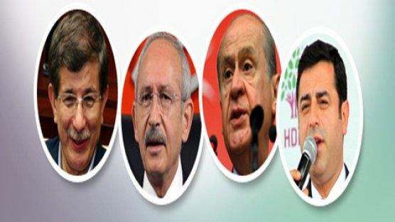 Liderlerin 7 Haziran rakipleri