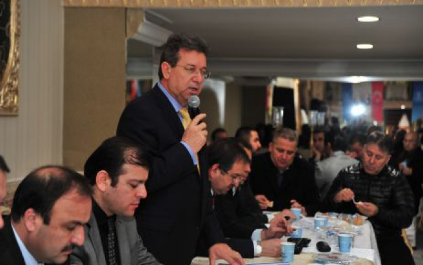 Mahalle meclisi Barış Mahallesi'nde toplandı