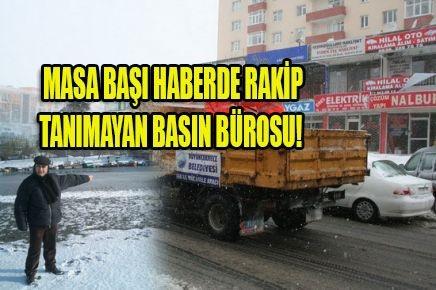 MASA BAŞI HABERDE RAKİP TANIMAYAN BASIN BÜROSU!