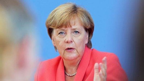 Merkel pazar günü geliyor
