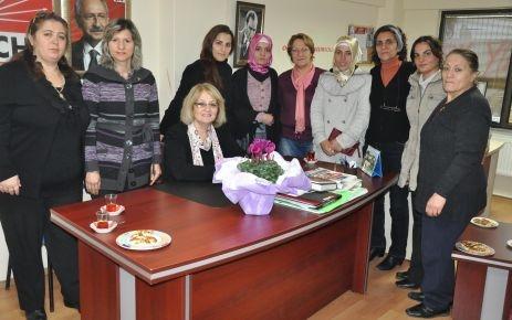 Mimarsinan'dan CHP'ye ziyaret