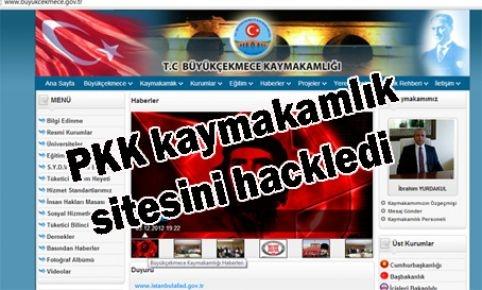 PKK kaymakamlık sitesini hackledi