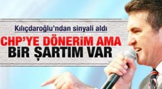 Sarıgül: 8 bin kişiyle CHP'ye dönerim