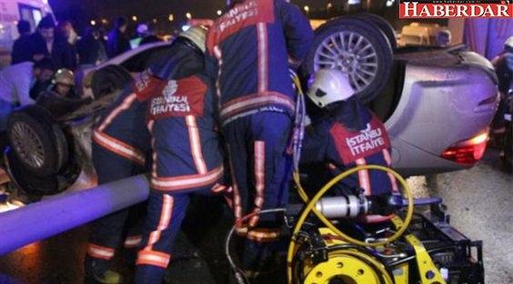 Sefaköy'de trafik kazası: 1 ölü