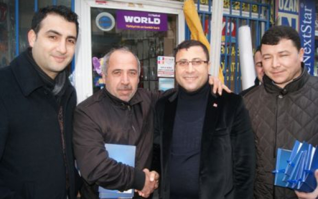 Silivri AK Parti Esnafı ziyaret etti