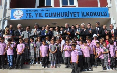 Silivri,yeni eğitim öğretim yılına yeni okulla 'merhaba' dedi
