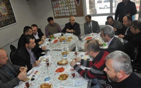 Tepecik Anadoluspor, kahvaltıda buluştu