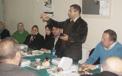 Toplantılar Fatih'te devam etti