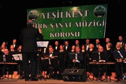 TSM korosu ilk konseriyle izleyenleri büyüledi