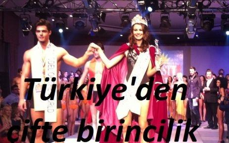 Türkiye'den çifte birincilik