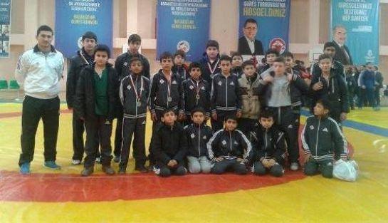Turnuvada Çatalca 7 Madalya Aldı