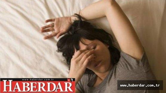 Uyku düzensizliği hasta ediyor