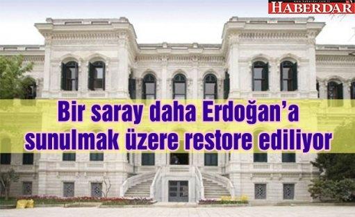 Yıldız Sarayı Erdoğan'a sunulmak üzere restore ediliyor