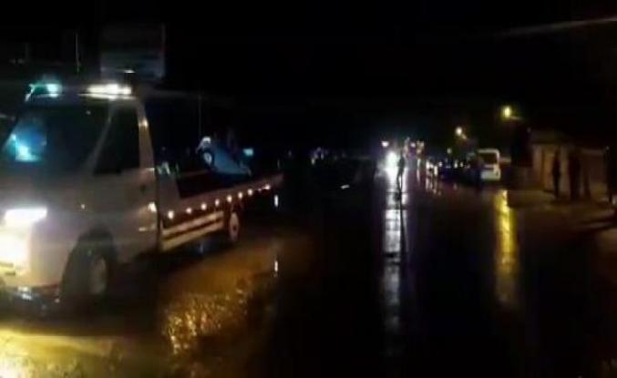 Çatalca'da kopan kamyonetin kapağı otomobile çarptı: 1 ölü