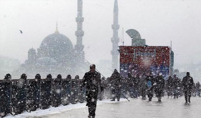 Meteoroloji: İstanbul'a çarşamba günü kar yağacak