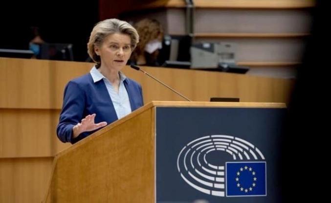 AB Komisyonu Başkanı Ursula von der Leyen: Aşı konusunda olmak istediğimiz yerde değiliz