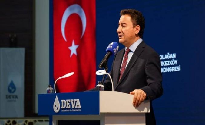 Ali Babacan: Tekirdağ'da partisinin 1. Olağan Çerkezköy İlçe Kongresi'nde konuştu