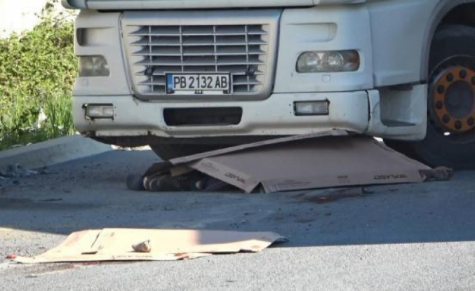 Esenyurt'ta tır sürücüsünün feci ölüm