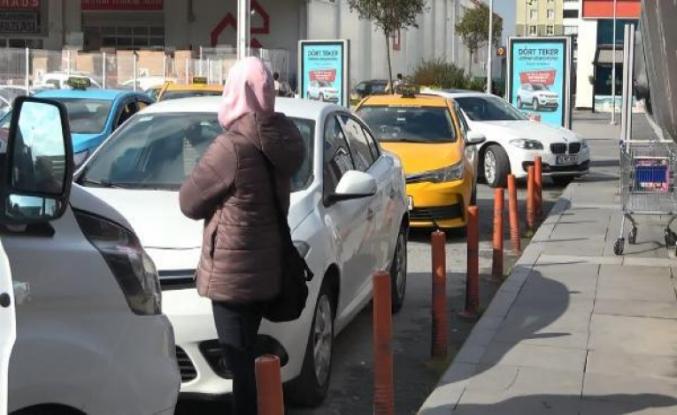 Hakkında işlem yapan polise isyan eden seyyar satıcı kadının cipi olduğu ortaya çıktı