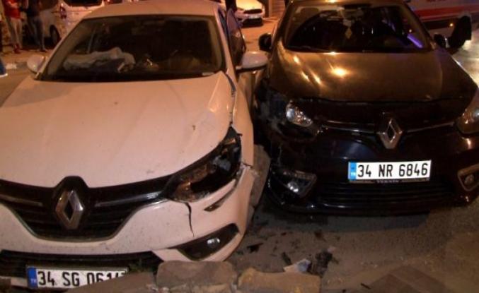 Esenyurt'ta trafik kazası: 2 yaralı