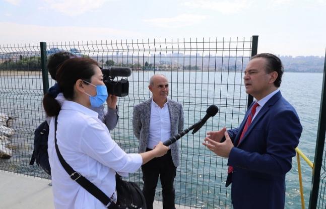 Japon Fuji TV, Tsunami ve Deprem Gözlem İstasyonu'nu haberleştirdi