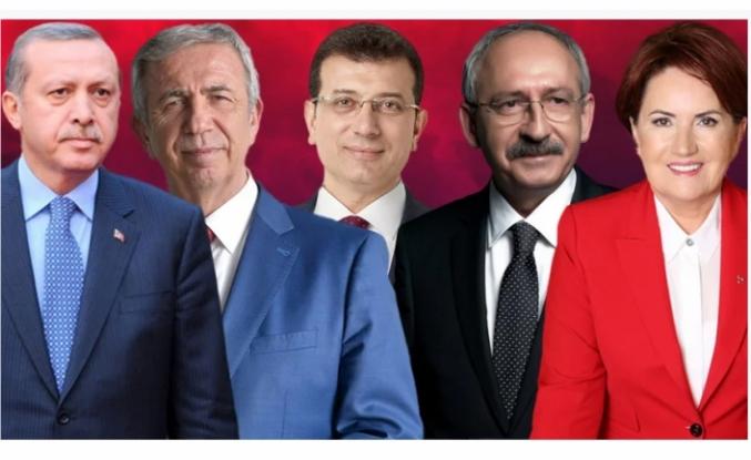 Son ankette dikkat çeken sonuç; Erdoğan'ın en yakın rakibi de belli dolu.