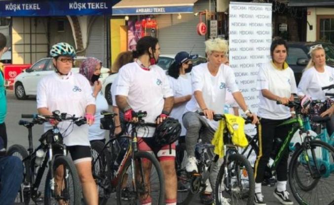 Avcılar Belediyesi ve özel hastaneden 'sağlık için pedallıyoruz' etkinliği