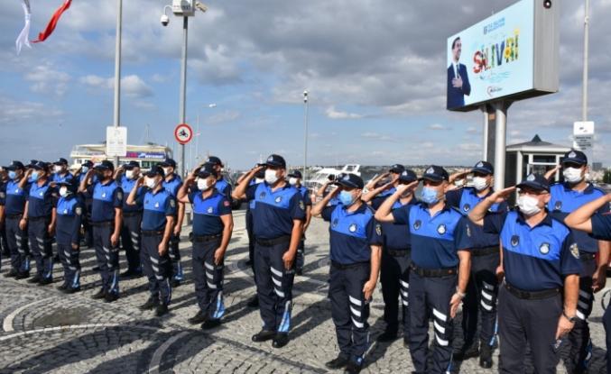 SİLİVRİ'DE ZABITA HAFTASI ÇELENK SUNMA TÖRENİ İLE KUTLANDI