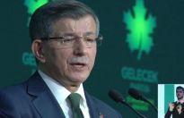 Ahmet Davutoğlu Gelecek Partisi'nin ilkelerini açıkladı