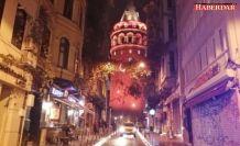 İstanbul kadına şiddete karşı turuncuya büründü