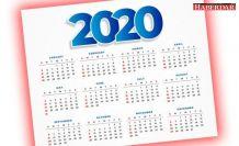 2020 yılında resmi tatiller hangi günlere denk gelecek?