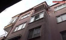 Avcılar'da kolonları çatlak bina tehlike saçıyor