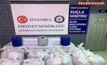 Silivri'de 2 ton 700 kilo kaçak tütün ele geçirildi: 3 gözaltı