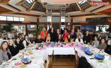 Büyükçekmece Belediyesi'nin kadın yöneticileri kahvaltıda buluştu