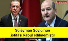 Son Dakika: İletişim Başkanlığı: Süleyman Soylu'nun istifası kabul edilmemiştir