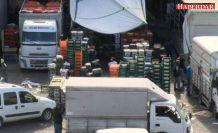 Sokağa çıkma yasağı sonrası İstanbul Meyve Sebze Hali'nde hareketlilik