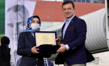 Ekrem İmamoğlu: Kadının güvencesi olan İstanbul Sözleşmesi'ni destekliyoruz