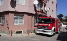 Silivri'de evinde düşen yaşlı kadını itfaiye kurtardı