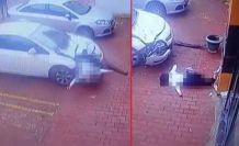 Esenyurt'ta genç kız rezidansın 18'nci katından böyle atladı