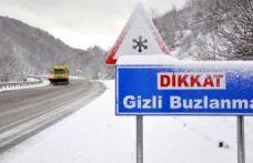 Meteoroloji'den kritik buzlanma uyarısı: Aksamalar olabilir