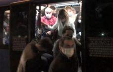 Esenyurt'ta artan vakalara rağmen minibüslerde değişmeyen manzara