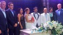 Çevik ailesinden rüya gibi düğün